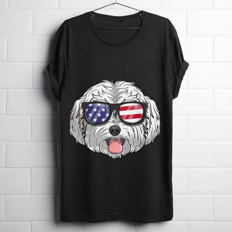 Original Maltipoo Dog Patriotic USA 4th Of July American Shirt
