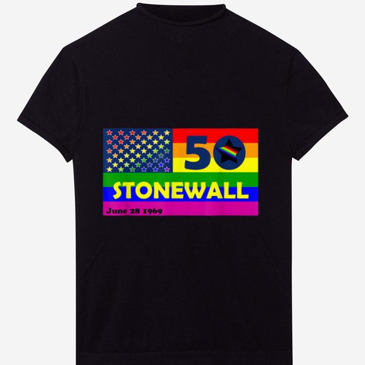 Top Stonewall Riots 50th NYC Gay Pride LGBTQ Rights shirt