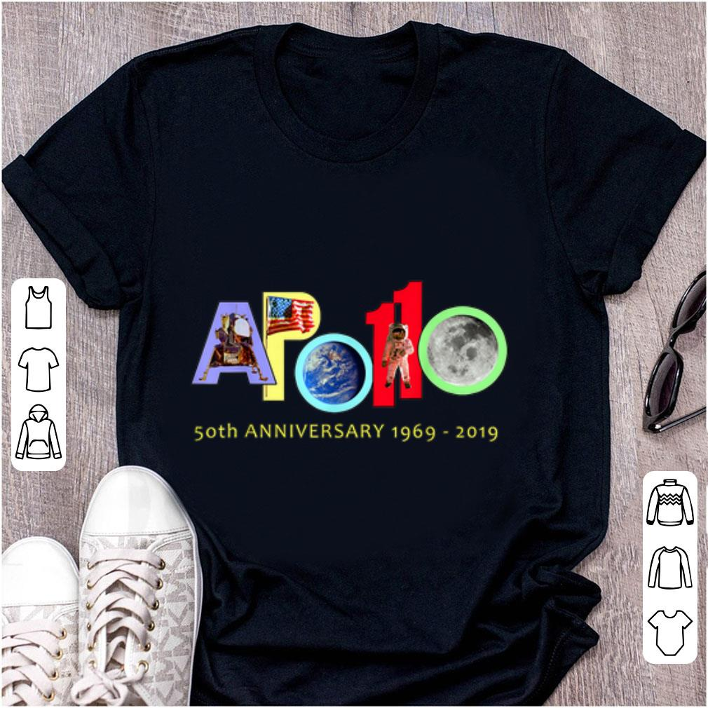 Awesome Apollo 11 50th Anniversary Colorful shirt