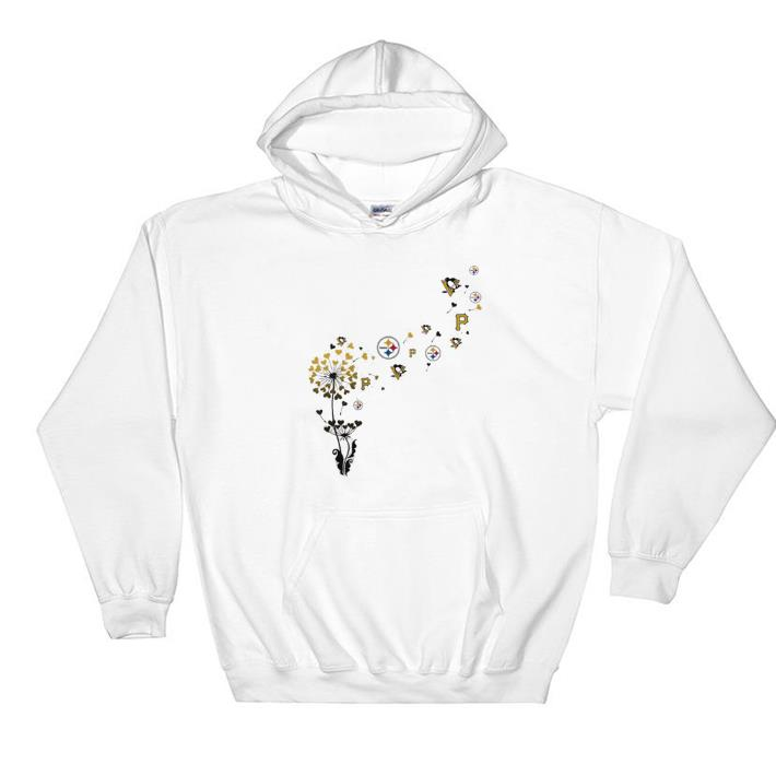 finest selection cc178 3bd44 Awesome Pittsburgh Steeler Pittsburgh Pirates Pittsburgh Penguins dandelion  shirt