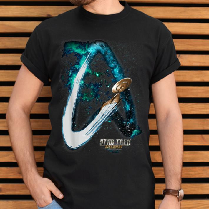 Awesome Star Trek Discovery Delta Trail Galaxy Premium shirt