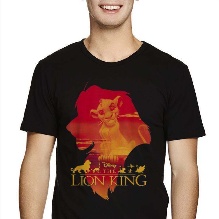 Official Disney Lion King Simba Silhouette Pride shirt