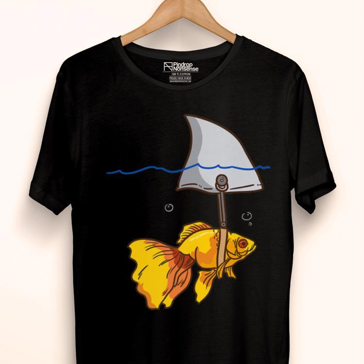 Original Fake Shark Goldfish Protect Yourself shirt