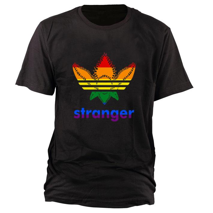 Original LGBT Adidas Stranger Things shirt