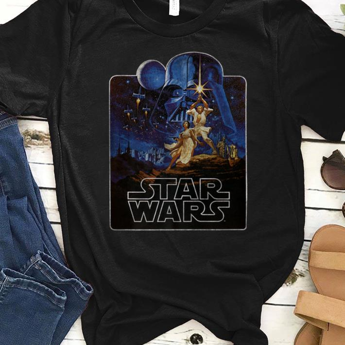 Premium Star Wars Epic Classic New Hope Vintage Badge shirt