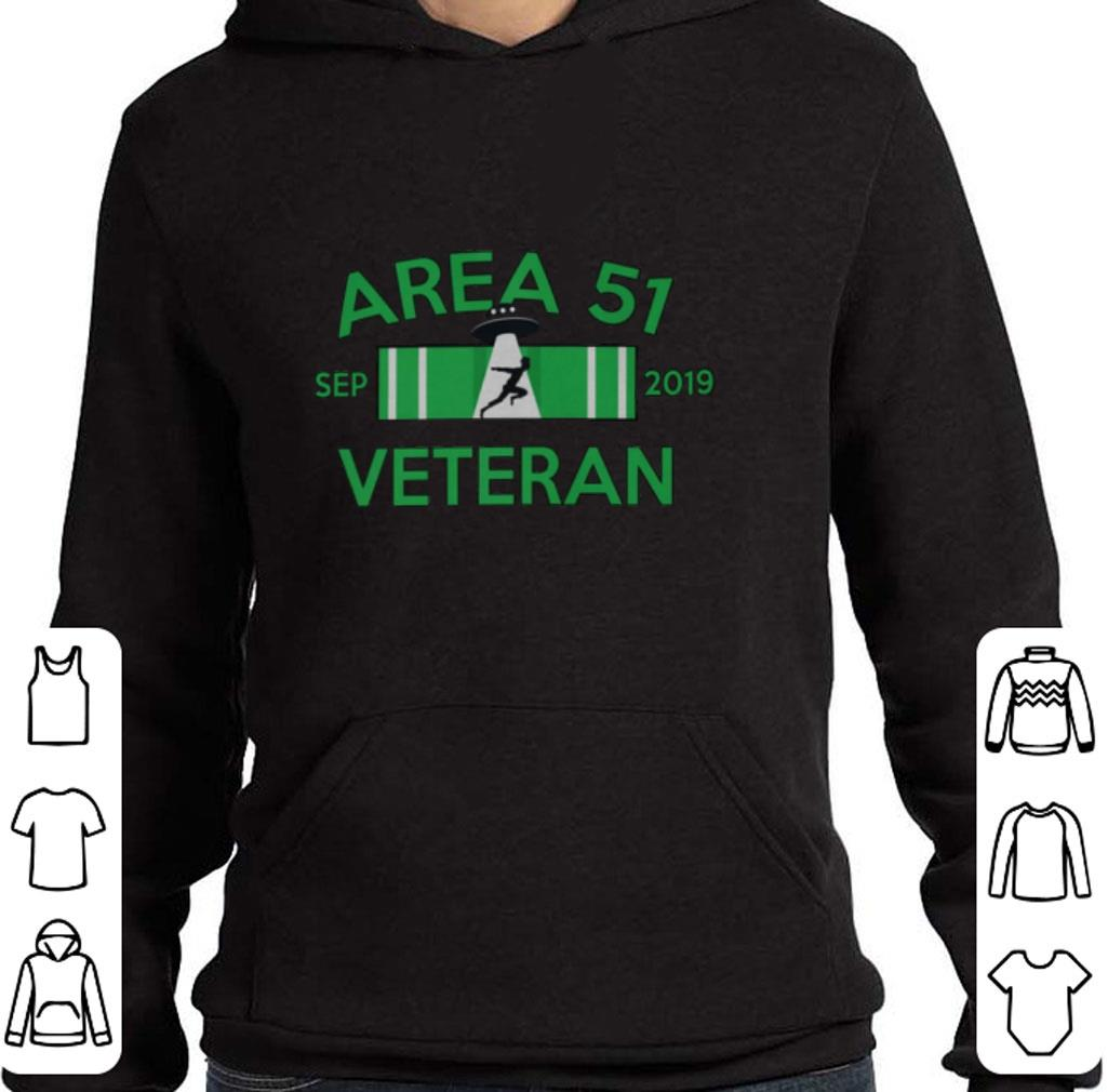 Top Area 51 sep 2019 Veteran shirt