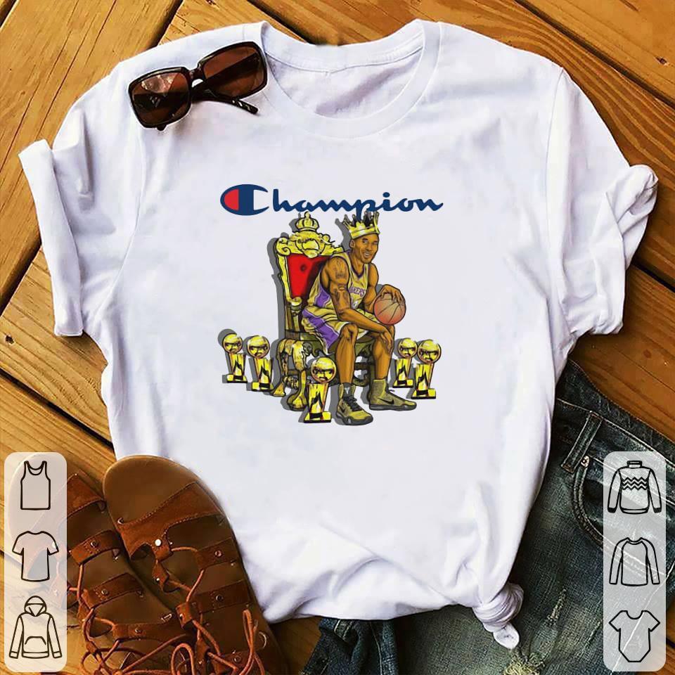 cheap for discount e8cb0 0da53 Official Champion LeBron James King James shirt