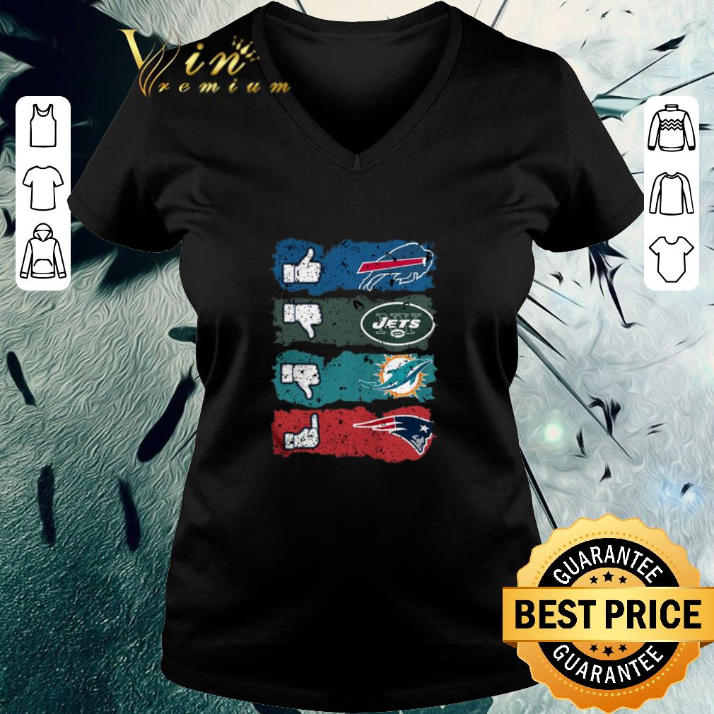 watch 56f12 52c2e Awesome Like Buffalo Bills dislike Jets Miami Dolphins fuck Patriots shirt