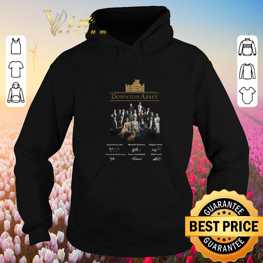 Funny Downton Abbey all character signatures shirt sweater