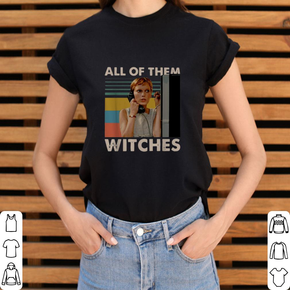 Hot Rosemary's Baby all of them witches vintage shirt