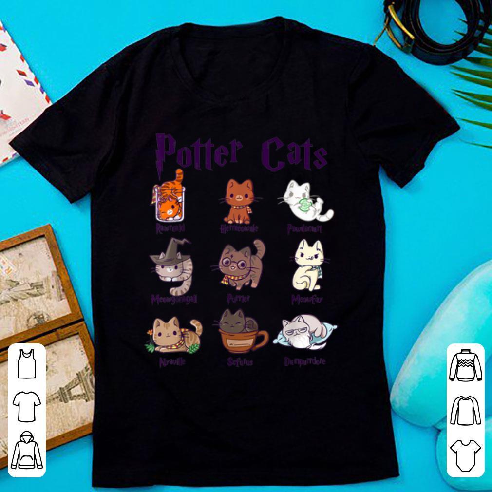 Original Potter Cats Cute Harry Pawter Kitten shirt