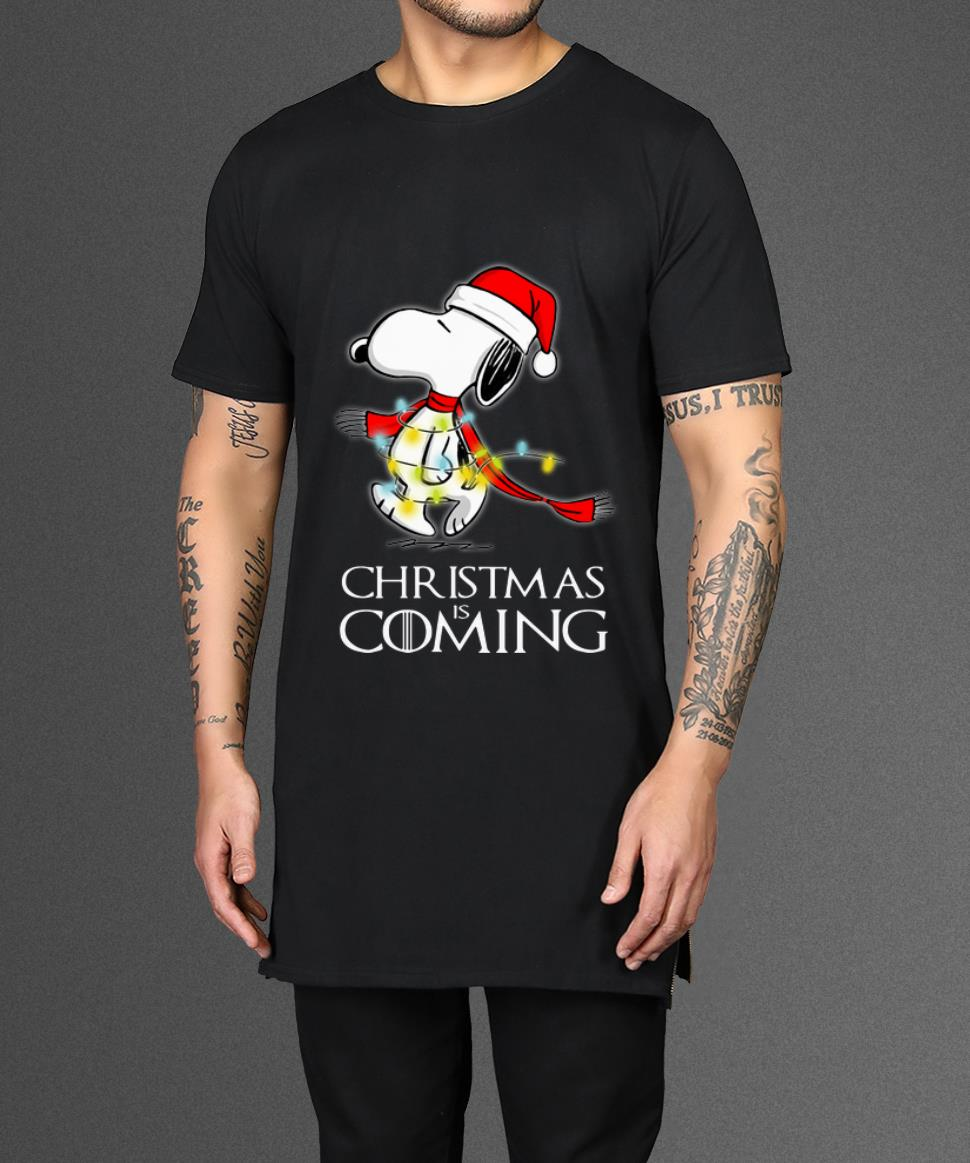 Awesome Christmas Is Coming Snoopy Game Of Thrones Shirt 2 1.jpg