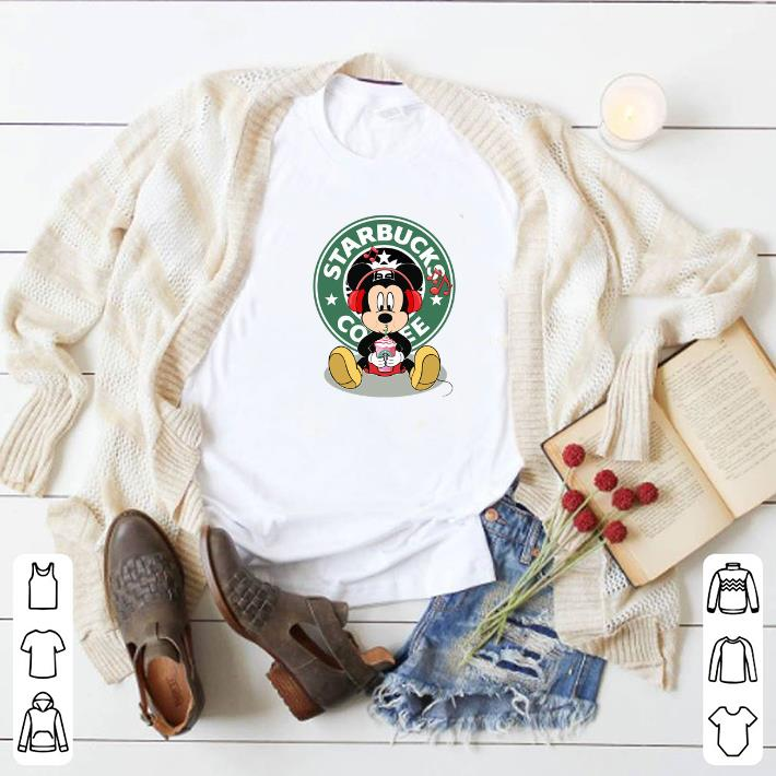Awesome Mickey drink Starbucks coffee shirt