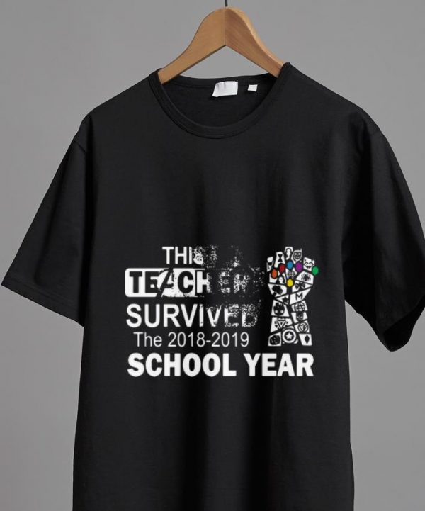 Awesome This Teacher Survived The 2018 2019 School Year Avenger Shirt 2 1.jpg