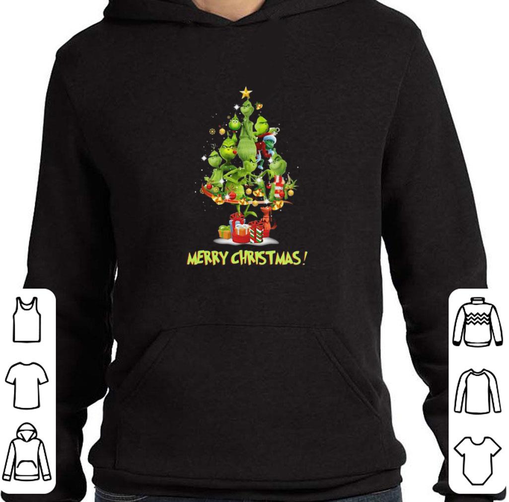 Official The Grinch Merry Christmas tree shirt