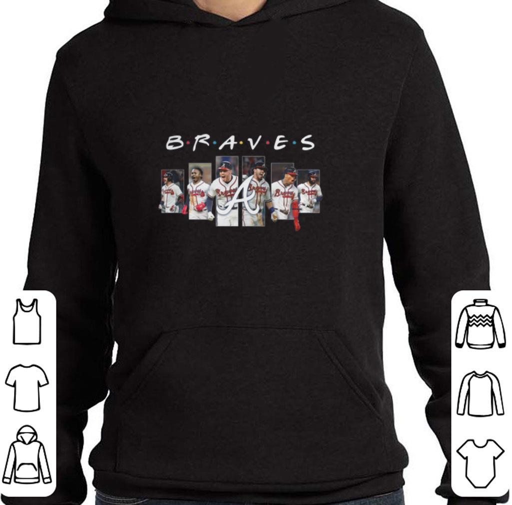 Premium Friends Atlanta Braves shirt