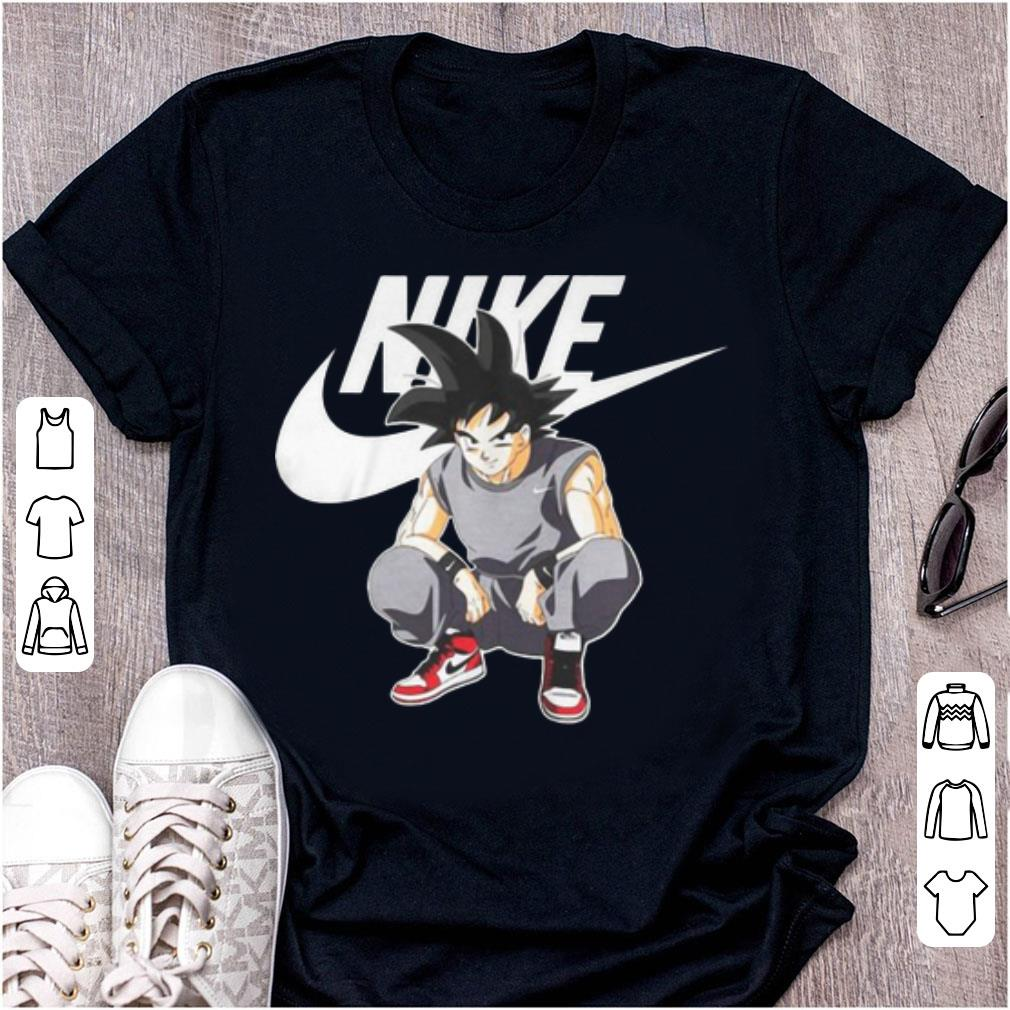t shirt dragon ball nike