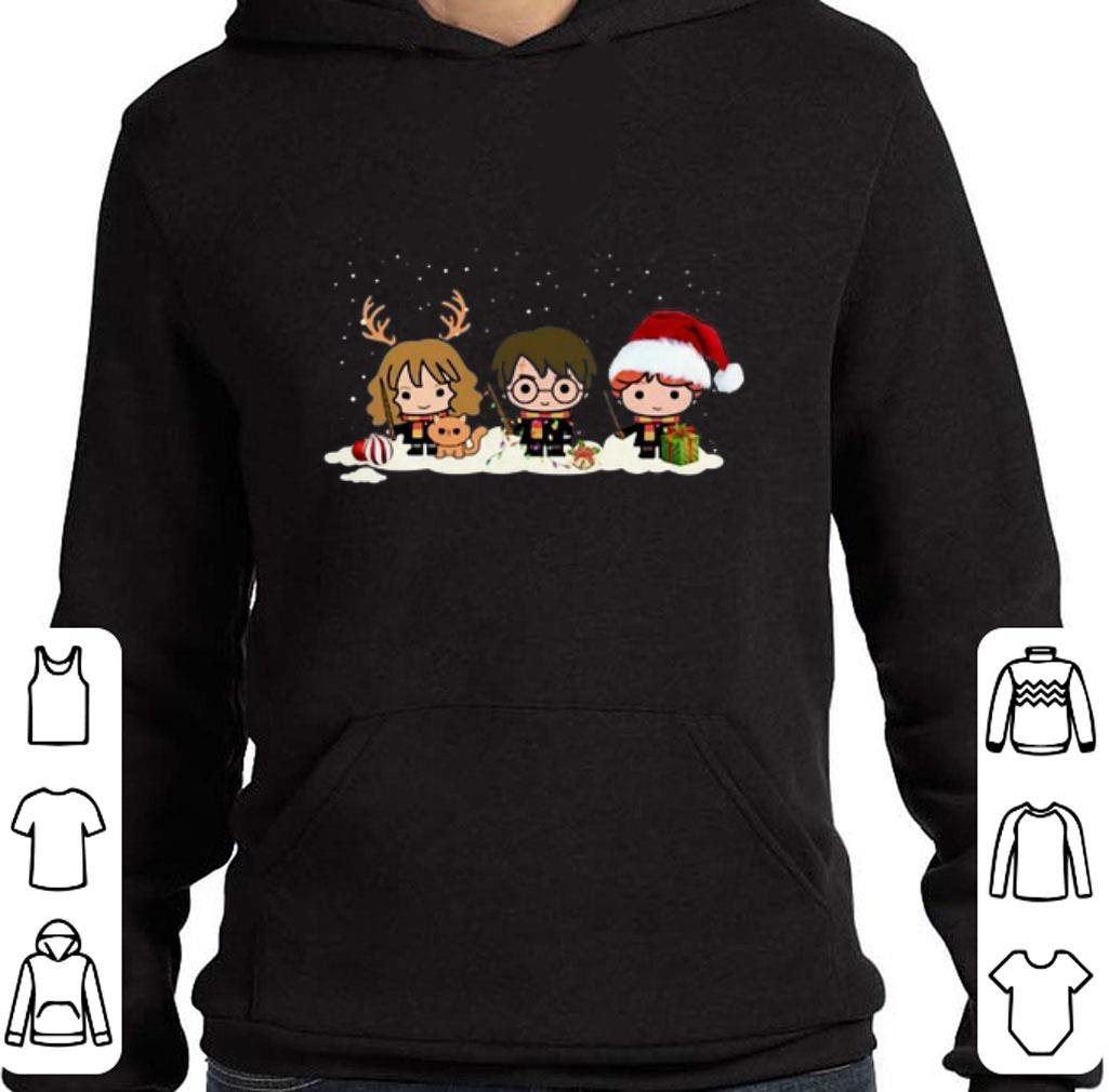 Pretty Harry Potter characters Christmas shirt