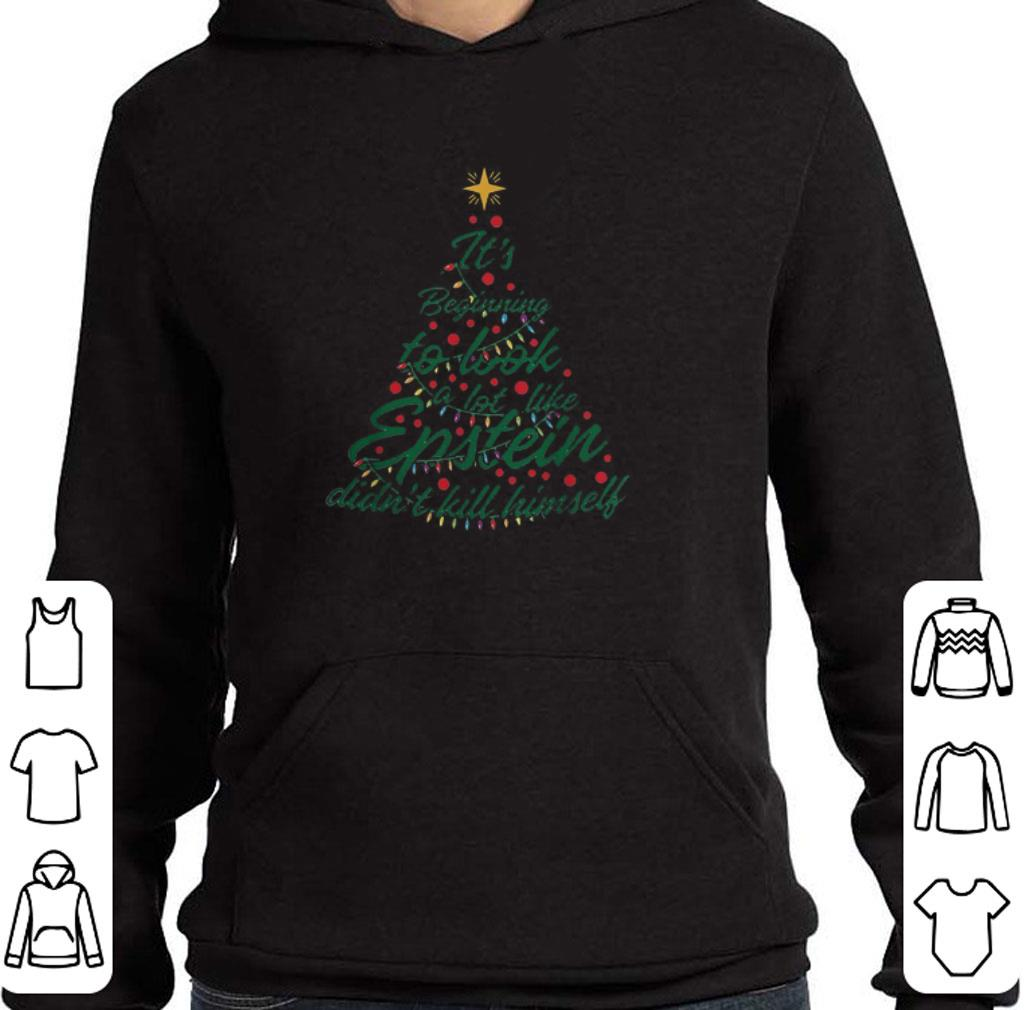 Awesome It's beginning to look a lot like Epstein didn't kill himself Christmas tree shirt