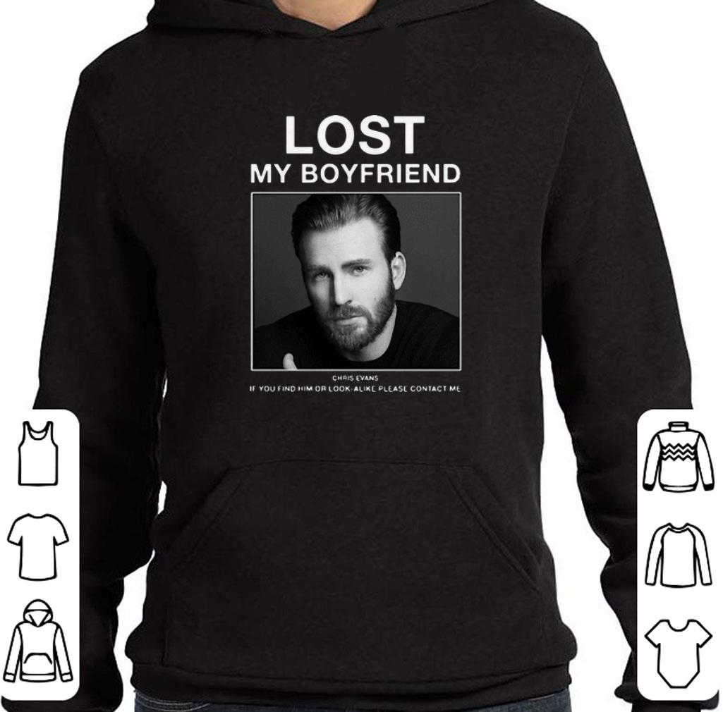 Awesome Lost My Boyfriend Chris Evans if you find him or look alike shirt