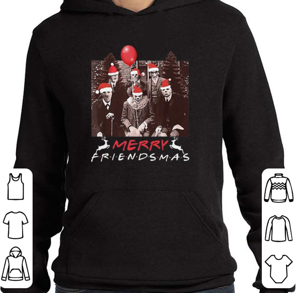 Premium Horror Movie Characters Merry Friendsmas Christmas shirt