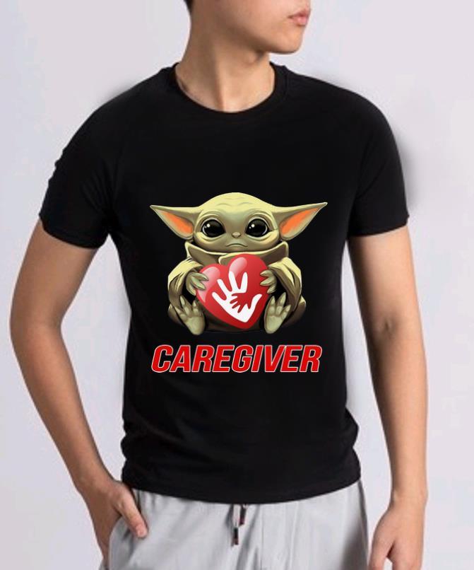 Pretty Star Wars Baby Yoda Hug Caregiver Shirt 2 1.jpg