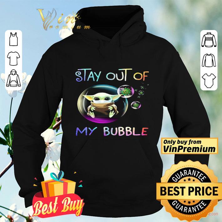 Baby Yoda Corona 2020 Stay Out Of My Bubble shirt 4 10 - Baby Yoda Corona 2020 Stay Out Of My Bubble shirt