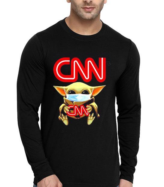 Baby Yoda Face Mask Hug CNN 4 - Baby Yoda Face Mask Hug CNN