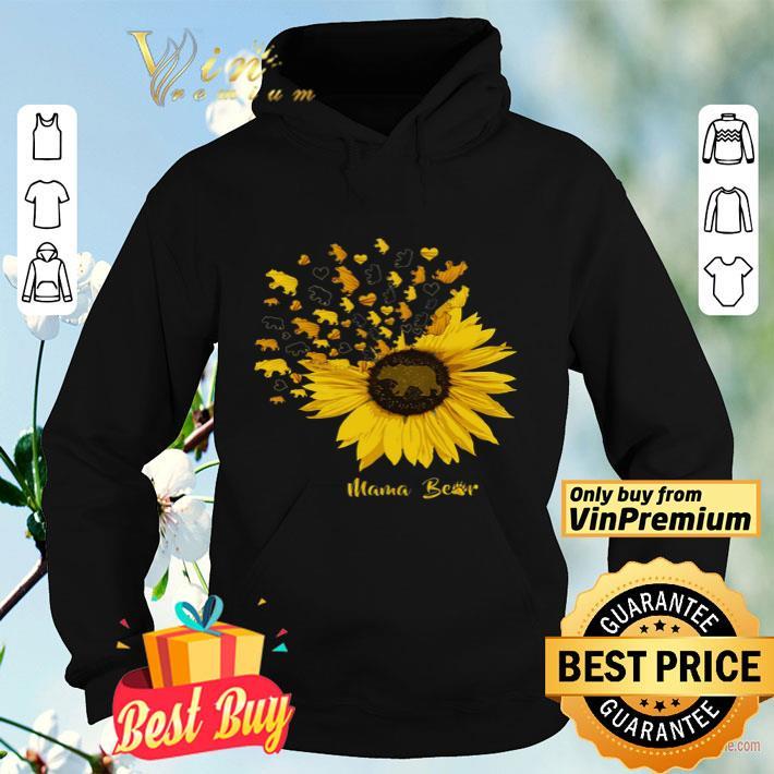 Bear Heart Sunflower Mama Bear shirt 4 - Bear Heart Sunflower Mama Bear shirt