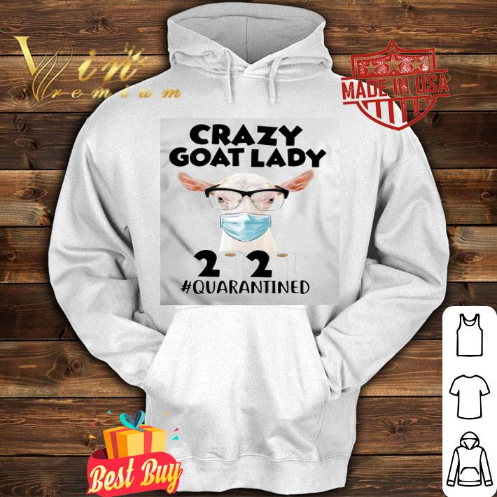 Crazy goat mask 2020 toilet paper quarantined Coronavirus shirt