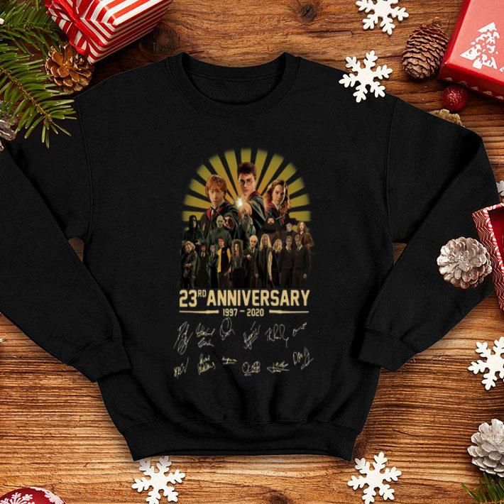 Harry Potter 23rd Anniversary 1997 2020 Signaturess shirt 4 - Harry Potter 23rd Anniversary 1997-2020 Signaturess shirt