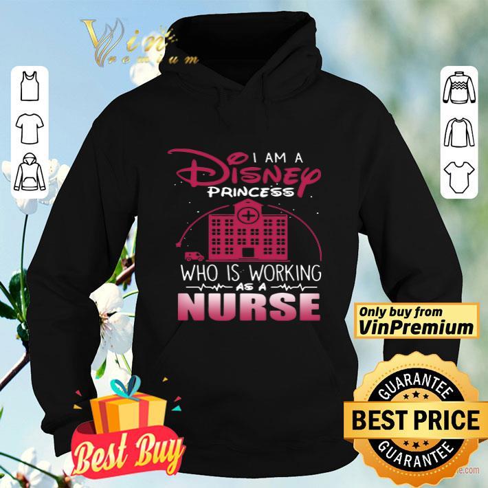 I am a Disney princess who is working as a nurse shirt