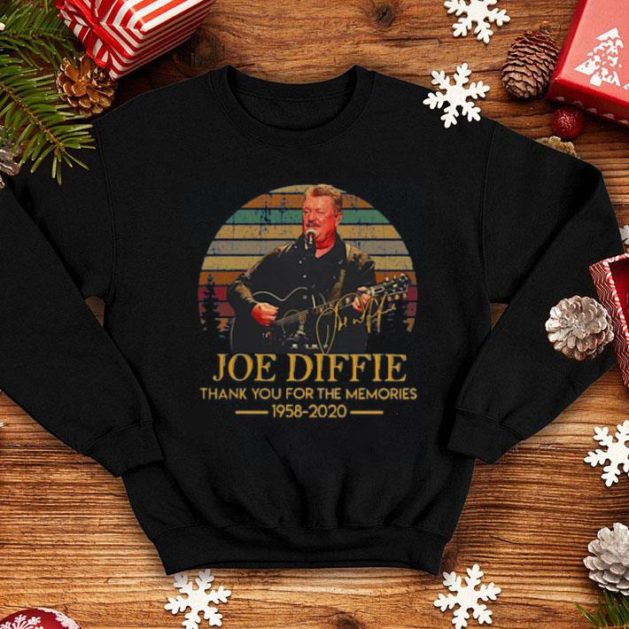 Joe Diffie Thank You For The Memories 1958 2020 Vintage