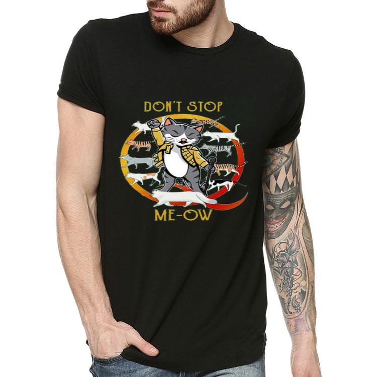 Nice Don't Stop Meow Shirt