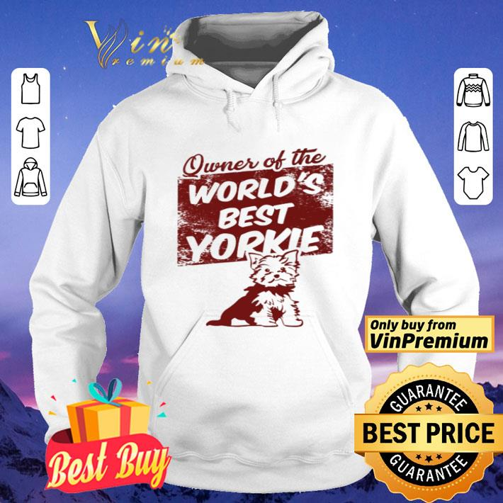 Owner of the world's best Yorkie shirt