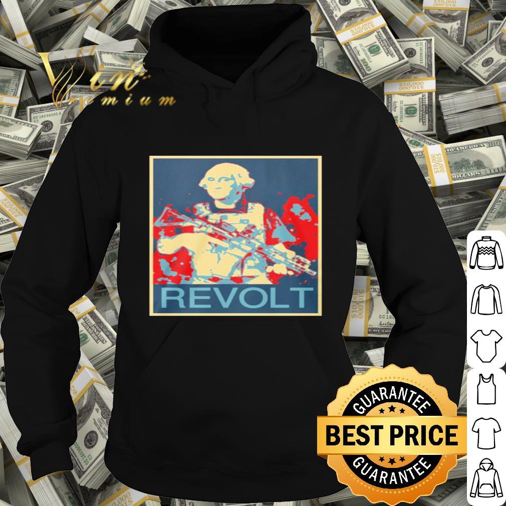 Revolt George Washington Art Vintage shirt