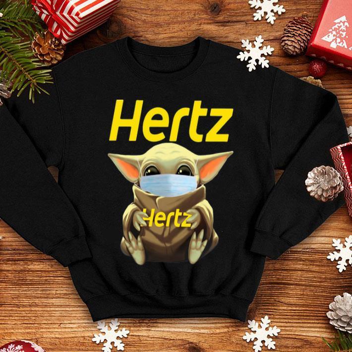 Star Wars Baby Yoda Face Mask Hug Hertz shirt 4 - Star Wars Baby Yoda Face Mask Hug Hertz shirt