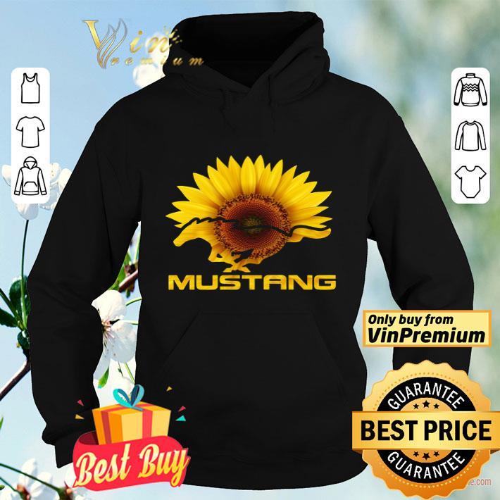 Sunflower Horse Mustang shirt