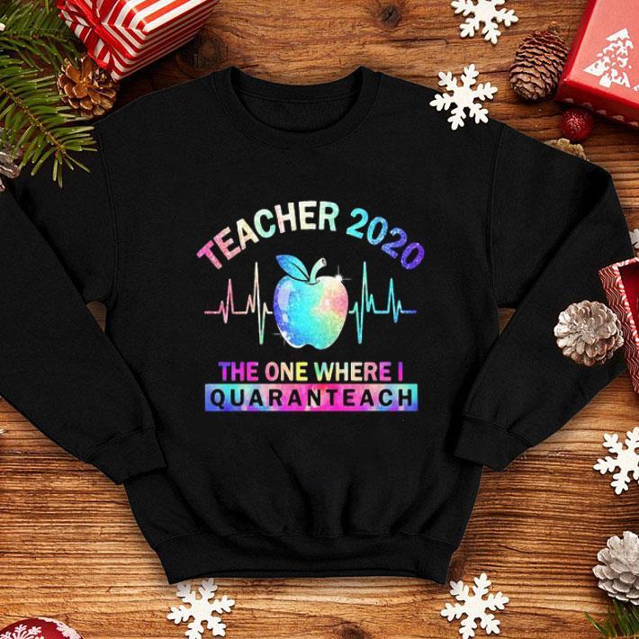 Teacher 2020 The One Where I Quaranteach Covid 19 shirt 4 - Teacher 2020 The One Where I Quaranteach Covid-19 shirt