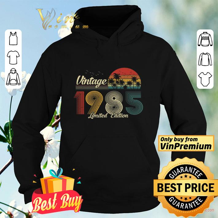 Vintage 1985 Limited Edition shirt