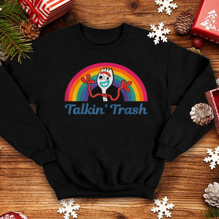 4 Rainbow Forky Talkin Trash Toy Story Movie Shirt 4 - 4 Rainbow Forky Talkin Trash Toy Story Movie Shirt