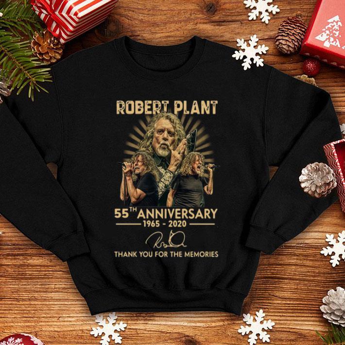 55th Anniversary Robert Plant Signature shirt