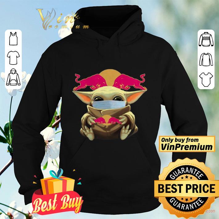 Baby Yoda Face Mask Hug Redbull shirt 4 - Baby Yoda Face Mask Hug Redbull shirt