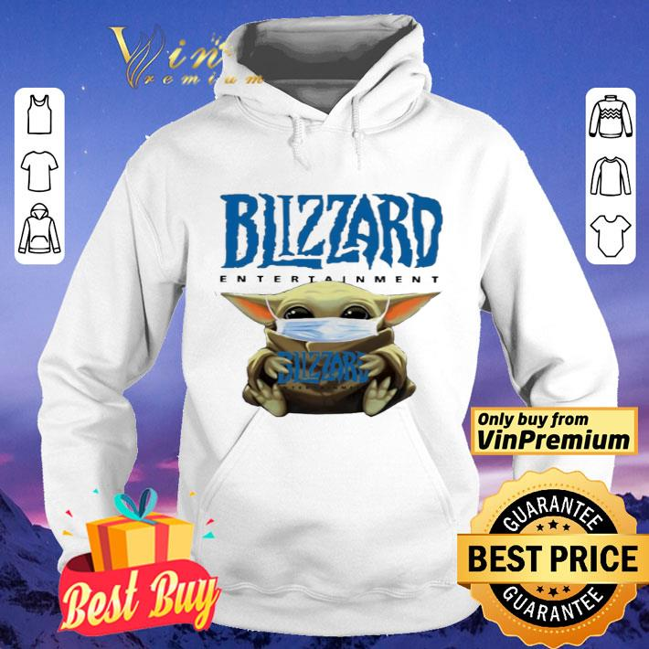 Baby Yoda hug Blizzard Entertainment shirt 4 - Baby Yoda hug Blizzard Entertainment shirt
