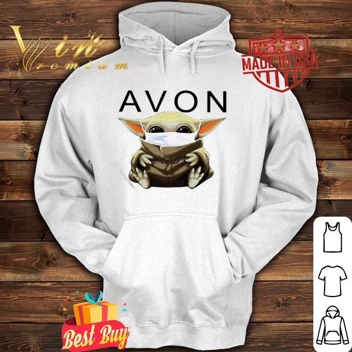 Baby Yoda mask Avon Coronavirus shirt 4 - Baby Yoda mask Avon Coronavirus shirt
