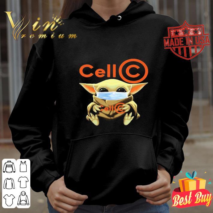 Baby Yoda mask Cell C Coronavirus shirt 4 - Baby Yoda mask Cell C Coronavirus shirt