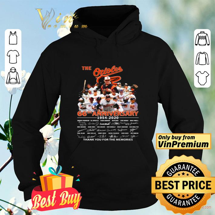 Baltimore Orioles 66th anniversary thank you for the memories shirt 4 - Baltimore Orioles 66th anniversary thank you for the memories shirt