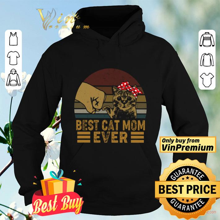 Best Cat Mom Ever Vintage Father s Day shirt 4 - Best Cat Mom Ever Vintage Father's Day shirt