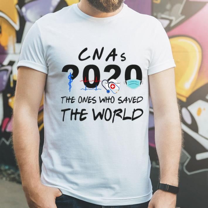 CNAs 2020 The Ones Who Saved The World shirt