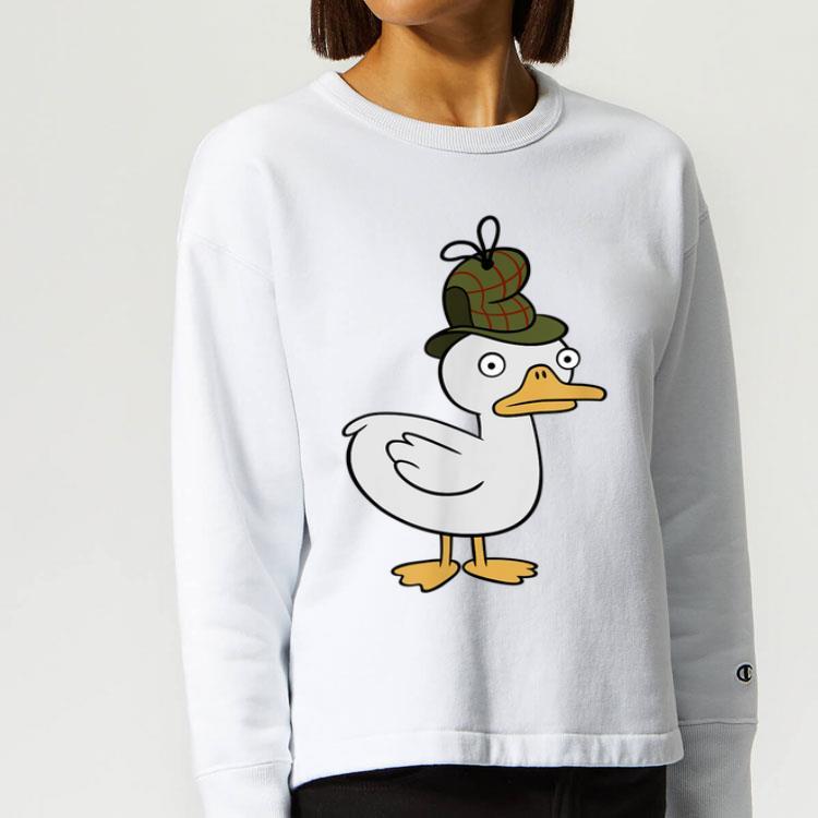 Channel Gravity Falls Duck Tective Shirt 4 - Channel Gravity Falls Duck-Tective Shirt